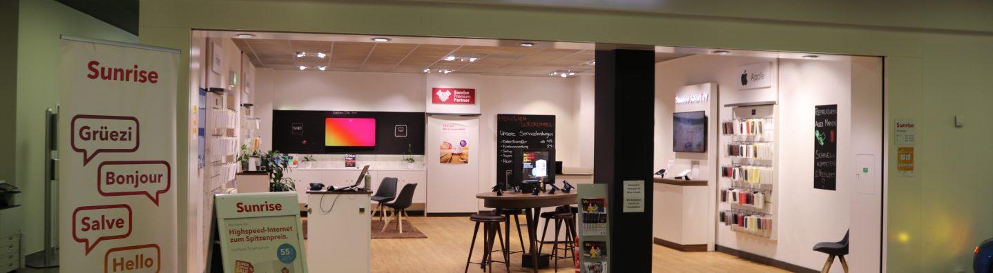 Sunrise Shop by Alptel in Rorschach für Mobile, Internet und TV