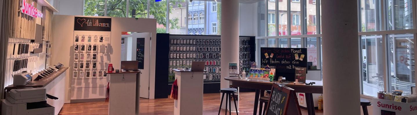 Alptel-Shop in Kreuzlingen für Mobile, Internet und TV