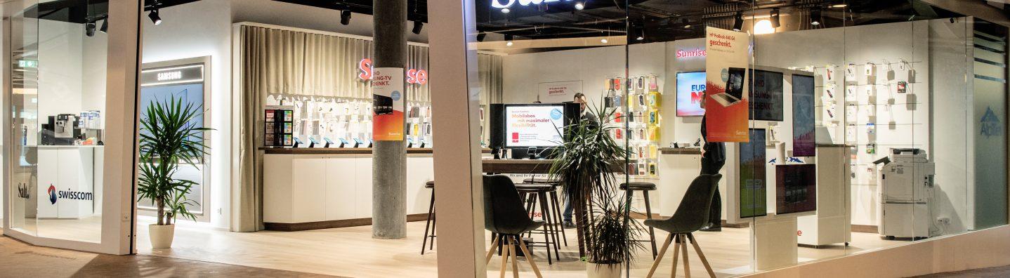 Alptel Shop in Amriswil für Mobile, Internet und TV