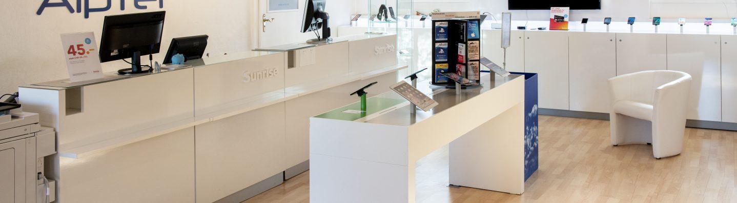 Alptel Shop in Appenzell für Mobile, Internet und TV
