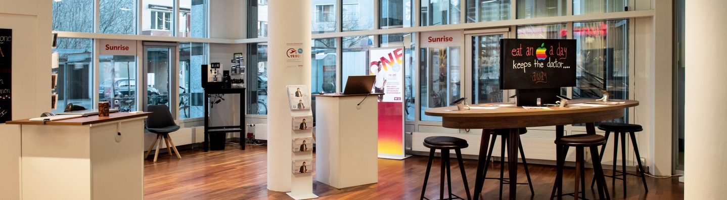 Sunrise Shop by Alptel in Kreuzlingen für Mobile, Internet und TV